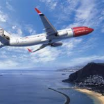 LOOK – UP IN THE SKY – IT'S NORWEGIAN AIRLINES!