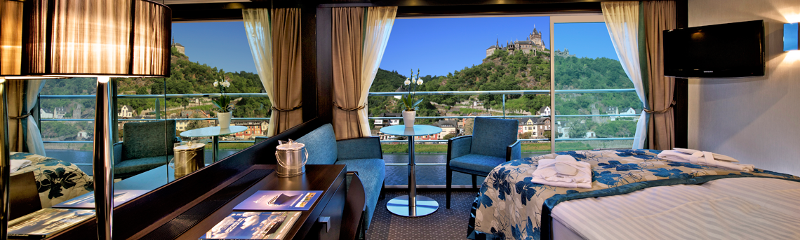 River Boat Suites Panorama Suite on Avalon AX