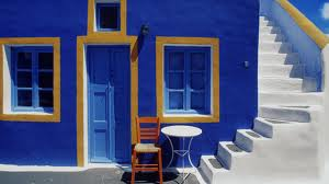 Greek Walls Blue BX