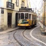 IT LIVES IN LISBON, IT'S # 28, AND IT'S YELLOW