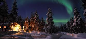 Lapland at night  AX