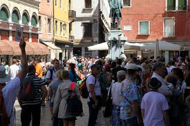 Venice Italy Crowds 2