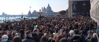 Venice Italy Crowds