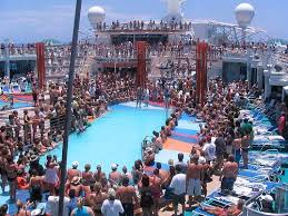Royal Caribbean crowds