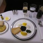 WHO REALLY HAS THE BEST AIRLINE FOOD IN FIRST CLASS?