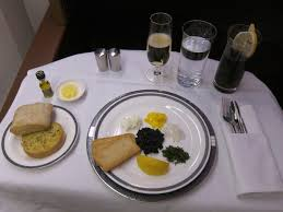 Singapore First Class Meal 2