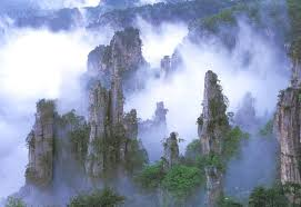 China Tianzi Mountain Wulingyuan  A