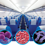 WHERE IS THE BEST PLACE TO SIT TO AVOID GERMS ON AN AIRPLANE?