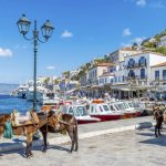 WHEN DO THE GREEK ISLANDS CLEAR OUT?